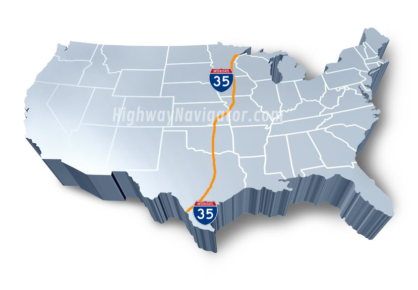 Interstate 35 | HighwayNavigator.com
