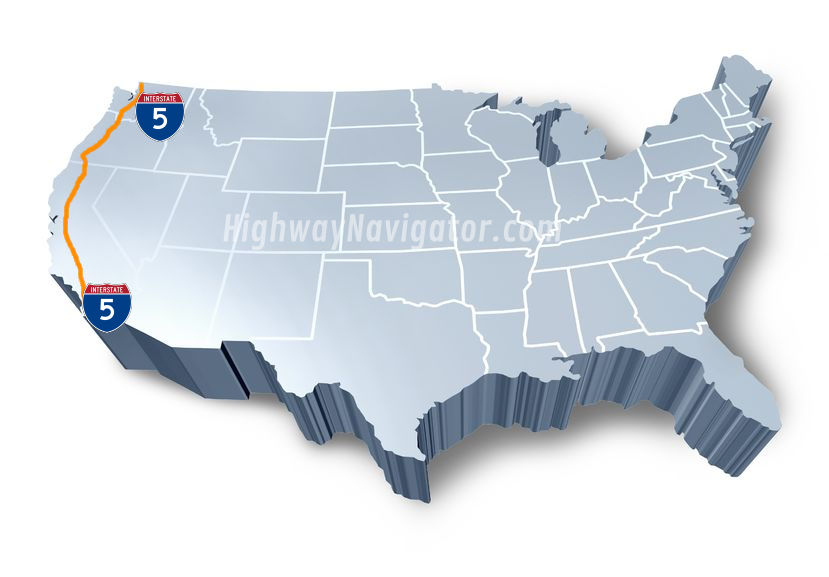 Interstate 5 | HighwayNavigator.com