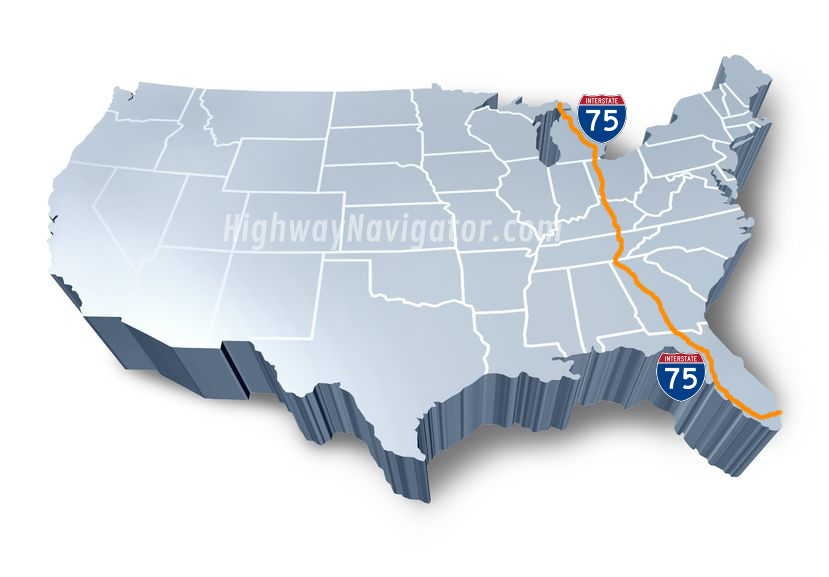Interstate 75 | HighwayNavigator.com